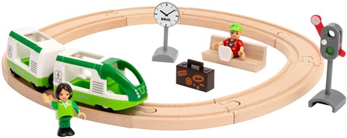 BRIO Cirkelvormige treinset  - 33847