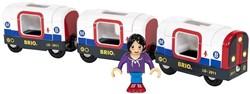 Brio  houten trein accessoire Metro trein
