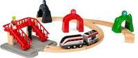 BRIO trein Smart Tech locomotiefset met actietunnels 33873