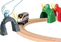 BRIO trein Smart Tech locomotiefset met actietunnels 33873-2