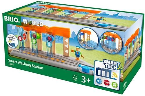 BRIO trein SMART Treinwasstraat 33874