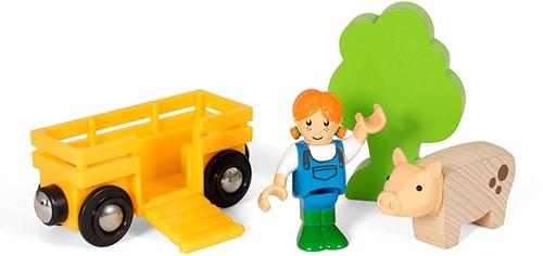 BRIO Farm Girl Play Kit