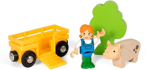 BRIO train Farm Girl Play Kit 33875