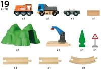 BRIO trein Lift & Load starterset A  33878-2