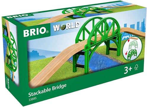 BRIO train Stackable Bridge 33885-3