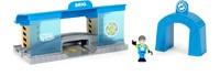 BRIO trein Smart Tech Werkplaats 33918