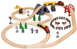 Brio houten trein set Large Countryside & Cargo set 33934