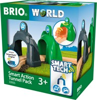 BRIO trein Smart Tech Action Tunnel set 33935-3