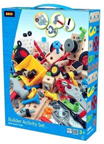 Brio  houten constructie speelgoed Builder Activiteiten set 34588-1