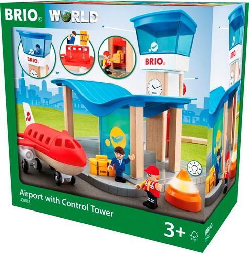 BRIO Vliegveld met controletoren - 33883