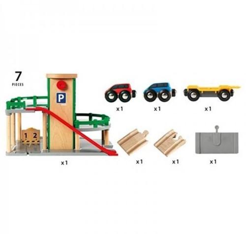 Brio  speelstad gebouw Garage 33204-3