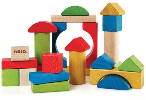 BRIO speelgoed Gekleurde blokken 25 stuks-1