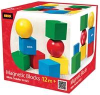 Brio  houten bouwblokken Magnetische stapelblokken 30123-2