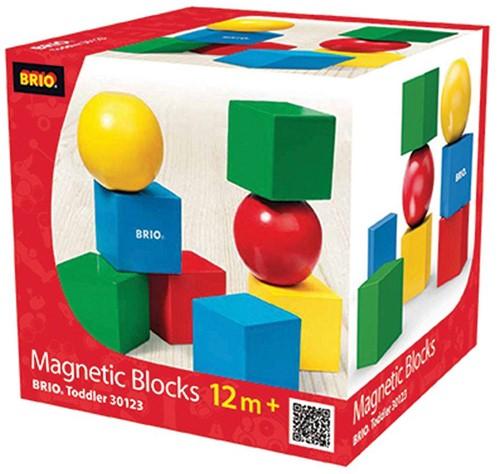 BRIO speelgoed Magnetische stapelblokken