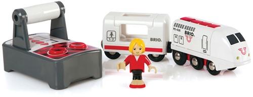 BRIO trein Witte RC locomotief met afstandsbediening 33510-1
