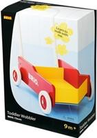 BRIO speelgoed Geel-rode loopwagen-2