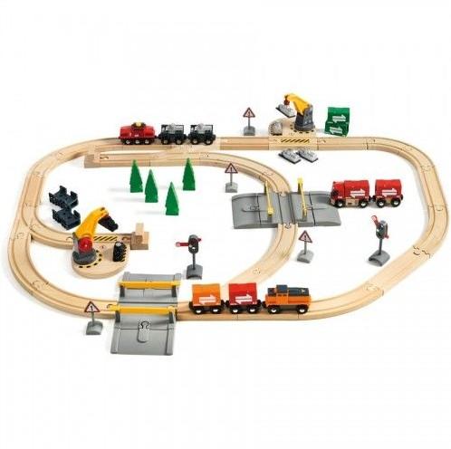 Brio  houten trein set Special Cargo Set 75-delig-1