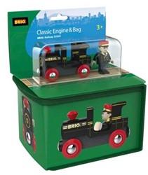 Brio  houten trein Reistas met treintje 33738