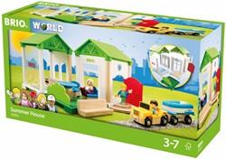 Brio  speelstad gebouw Zomerhuis 33953
