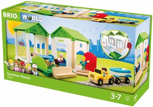 BRIO trein Zomerhuis 33953