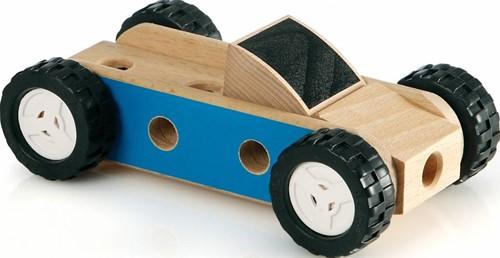 Brio  houten constructie speelgoed Builder Mini auto 34557-2