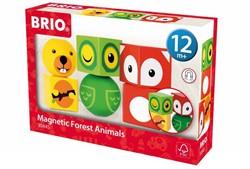 Brio  houten leerspel Magnetic Animals