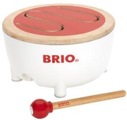 Brio  houten muziekinstrument Houten trommel 30181