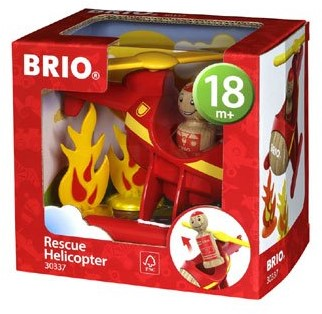 BRIO Fire Helicopter