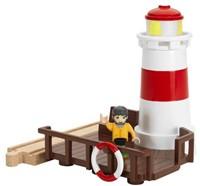Brio  houten trein accessoire Vuurtoren 33597-1