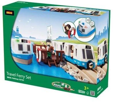Brio  houten trein set Travel ferry set 33725-2