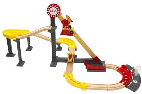 Brio  houten trein set Roller coaster set 33730-1