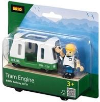 Brio  houten trein accessoire Tram engine 33731-2