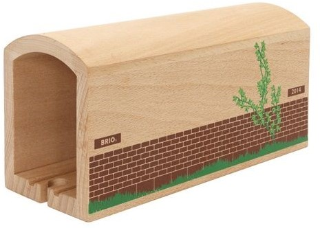 Brio  houten trein gebouw Tunnel 33735-1