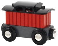 Brio  houten trein accessoire Caboose 33737-1