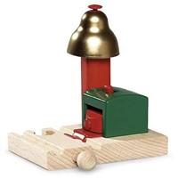 Brio  houten trein accessoire Magnetisch belsignaal 33754-1