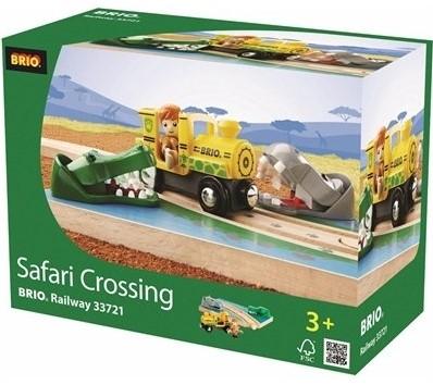 Brio  houten trein accessoire Safaritrein thema set 33721-2