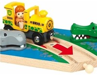 Brio  houten trein accessoire Safaritrein thema set 33721-3