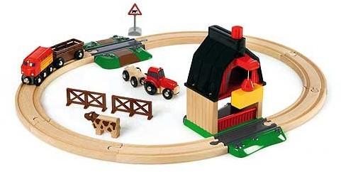 BRIO trein Treinset met boerderij 33719-1