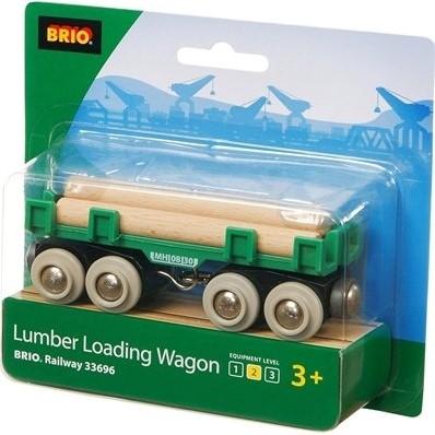 Brio  houten treinwagon Houttransport wagon 33696-2