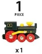 Brio  houten trein Oude stoomlocomotief 33617-3