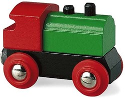 Brio  houten trein Stoomlocomotief 33610