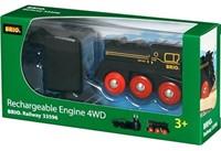 Brio  houten trein Oplaadbare 4 wheel locomotief 33596-1