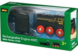 Brio  houten trein Oplaadbare 4 wheel locomotief 33596
