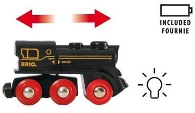 Brio  houten trein Oplaadbare 4 wheel locomotief 33596-2