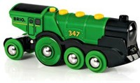 BRIO trein Locomotief op batterijen 33594-2