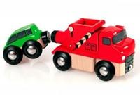 BRIO trein Sleepwagen met auto 33528-1