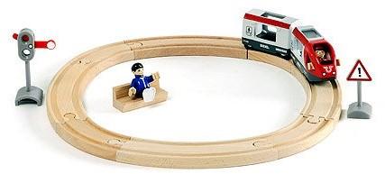 BRIO Set met passagierstrein - 33511