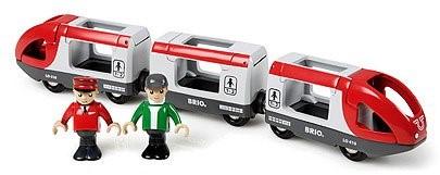 BRIO trein Rode passagierstrein 33505-1