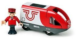 Brio  houten trein Travel battery engine 33504