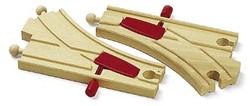 Brio  houten treinrails Mechanische wissels 33344